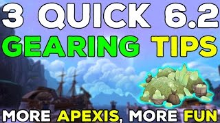 3 Extra Patch 6.2 Gearing Tips - [BoA Upgrades, Buffed Missions & More]