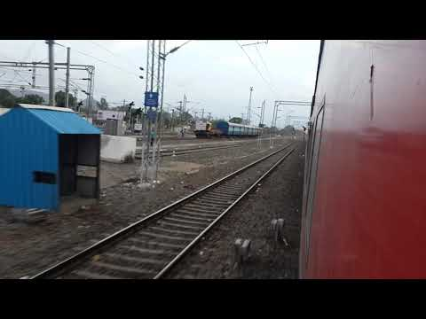 Xxx Mp4 Speedy Manmad JN Skip By WAP7 Hauled Ltt Lucknow AC Express Paper Bits On Track Gets Windy Speed 3gp Sex