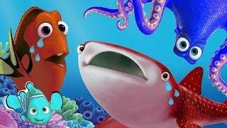 Disney Pixar Finding Dory toys learn colors in English 🌊
