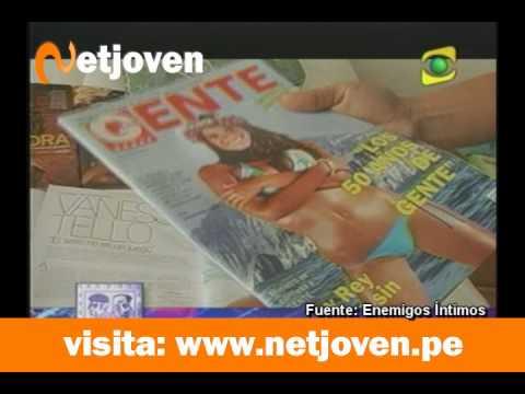 Vanessa Tello se destapa y posa desnuda