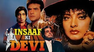 Insaaf Ki Devi (1992) Full Hindi Movie | Jeetendra, Rekha