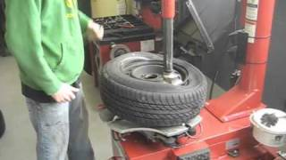 Dismount and Mount Tire Demo