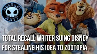 [Movies] TOTAL RECALL writer suing Disney for stealing his idea to ZOOTOPIA