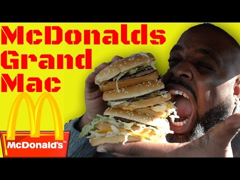 watch Black Man Tries McDonalds Grand Mac For The First Time