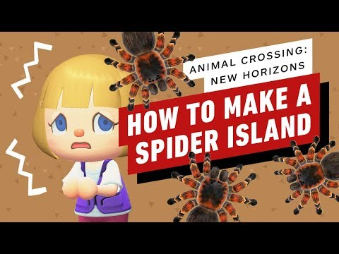 Animal Crossing New Horizons How to Make Your Own Spider Island Tarantula Farming Tips