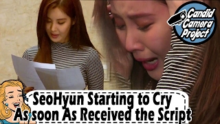 [Prank Cam Project] SeoHyun - Astonishing Crying Scene 20170212
