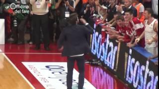 Basket: uno scatenato Pozzecco manda in visibilio Masnago