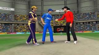 9th April Mumbai vS Kolkata : World Cricket Championship 2 ( WCC 2) 2017 Gameplay
