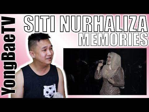 Whitney Houston & Dato' Siti Nurhaliza - Memories | Official Music Video | Reaction | YongBaeTV