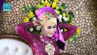 Tutorial Hijab Pengantin   Pashmina Hijab Tutorial by Didowardah Part #47