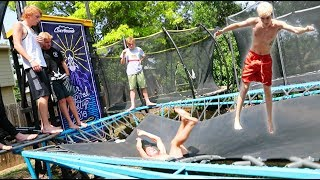 TRAMPOLINE MEET-UP INSANITY!