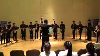 When The Saints Go Marching In Arr. Jean-Denis Michat [Salaya & NAFA Saxophone Ensemble]
