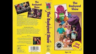 Barney - The Backyard Show [1988] (1991-1992 VHS) full in HD