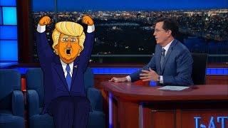 Cartoon Trump Is Emperor of New York
