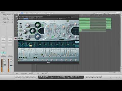 Dirty Dubstep Basslines with Logic's ES2