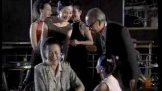 Alec Su singing with Vicki Zhao Wei