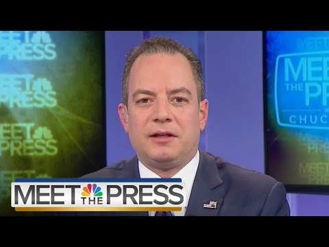 Reince Priebus On Questioning President elect Trump s Legitimacy Full Meet The Press NBC News