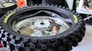 How To Change A Motorcycle Tire