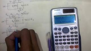 solving series and parallel circuits in bangla.