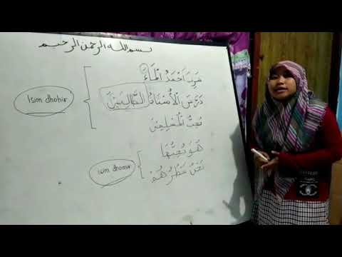 "Latihan Mengajar Fulltime 3 Al-Azhar Pare Kediri Penjelasan Bab ""Maf'ul Bih"""