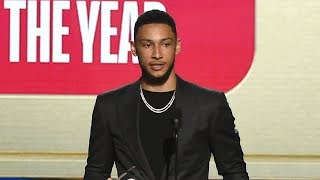 Ben Simmons Wins Rookie of the Year Award - 2018 NBA Awards