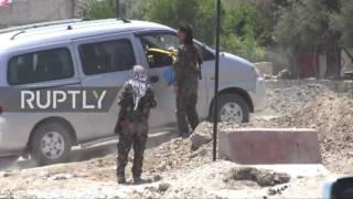 Syria: Raqqa in ruins as battle continues