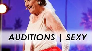 90y-old Dancer Strips to Golden Buzzer | America