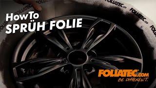 FOLIATEC.com - Sprüh Folie +++ Spray Film