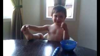 Jameson Danelo sneezing fun