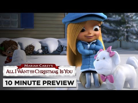 Download Mariah Carey's All I Want for Christmas Is You | 10 Minute Preview | On Blu-ray, DVD & Digital
