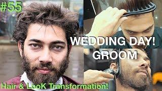 Hair Tutorial | Hair Transformation 2018 (Fun ✰) Groom Day | Best Barber 2018 USA/UAE