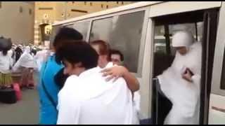 Kader khan on hajj tour
