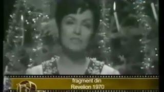 Mariana Zaharescu, minunata voce a emisiunii Teleenciclopedia, la Revelionul din 1970