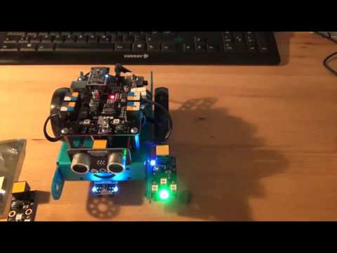 The mBot Color Game