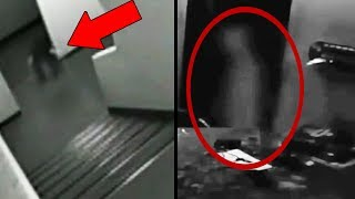 15 Ghost CCTV Videos That Should Not Exist! Paranormal Caught On CCTV Camera