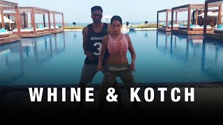 Nora Fatehi | Whine and kotch dance cover by Nora Fatehi and Rajit Dev - Dancehall
