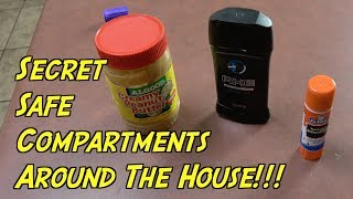 Smart Secret Safe Compartments Around The House- Life Hacks Everyone Should Know | Nextraker