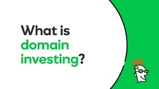 What is domain investing?