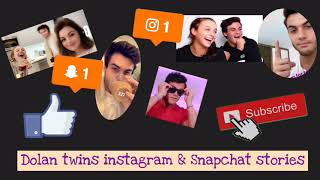 Dolan twins Instagram & Snapchat stories from 5-14-19 to 5-29-19