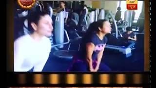 Take a look at the workout of Kareena Kapoor Khan and Amrita Arora