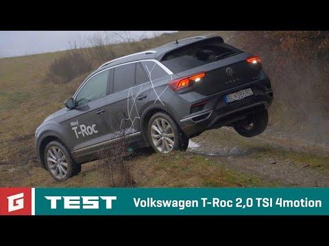 Volkswagen T Roc 2 0 TSI 4MOTION DSG TEST GARAZ.TV