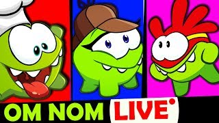 Om Nom Kahaniya - Super Noms | Funny Hindi Cartoon For Kids | Cut The Rope Live Stream