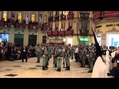MENA Cristo de La Buena Muerte La Legión Semana Santa Málaga 2014