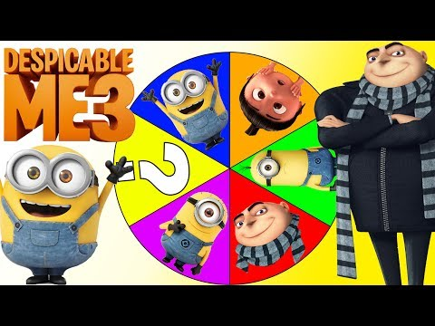 Minions Despicable Me 3 Game with Disney Moana, Gru, Paw Patrol Surprise