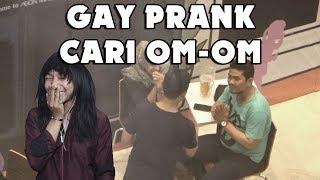 GAY PRANK - MENCARI CINTA OM OM MALAH DIBOLEHIN ISTRINYA