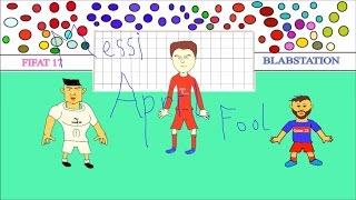 Messi April Fool Ft.Ronaldo , Muller