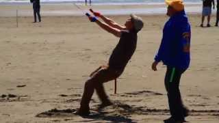 World Record Flight of Micron Kites