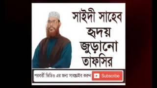Bangla waz হযরত মুসা আঃ এর জীবনী   Allama Delwar Hossain Saydee