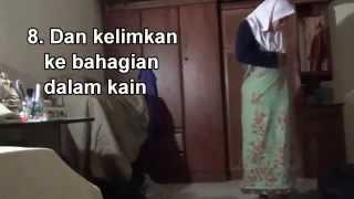 Wear batik sarong funniest II Cara  memakai sarung terlucu