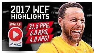 Stephen Curry WCF Offense Highlights VS Spurs 2017 Playoffs - SPLASH MODE!